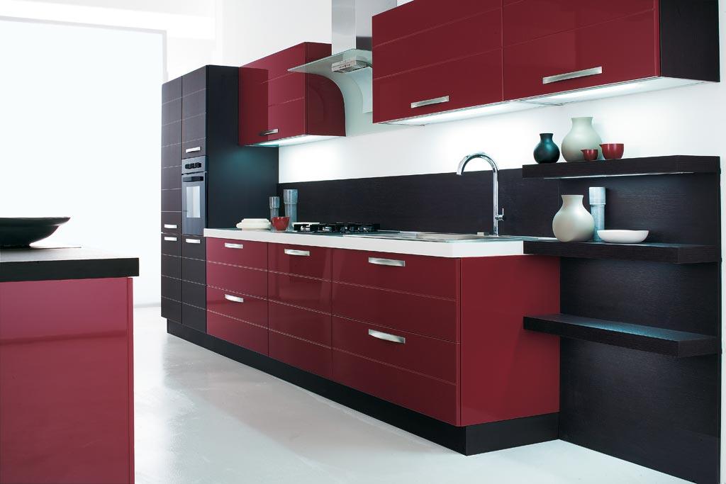 Stunning Cucina Moderna Rossa Ideas - Home Interior Ideas ...