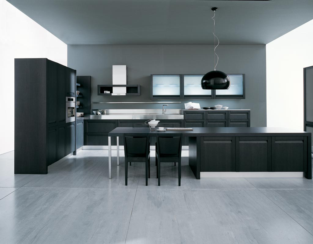 Modern kitchen design Treviso - Modern fitted kitchen furniture
