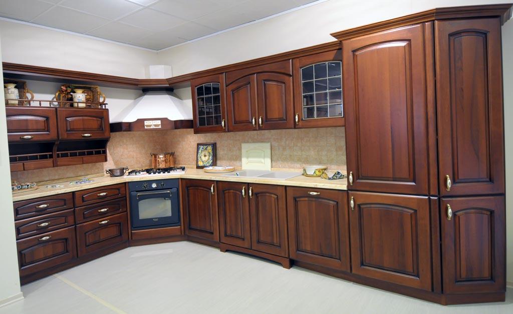 Cucina classica elena rivenditori cucine sicilia - Cucina componibile prezzi ...