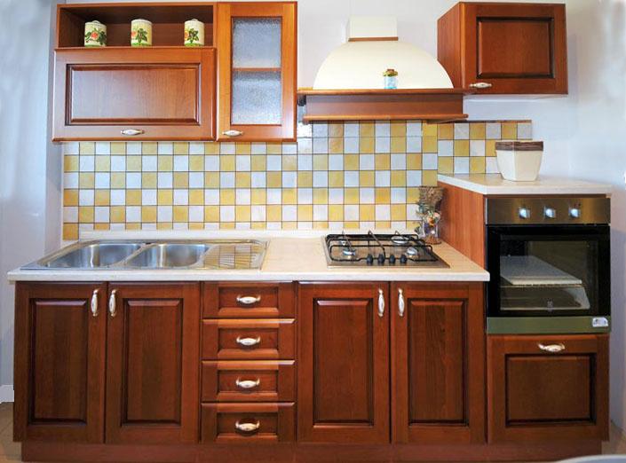 Cucina Componibile In Ciliegio : Cucina classica in promozione enna rivenditori cucine sicilia