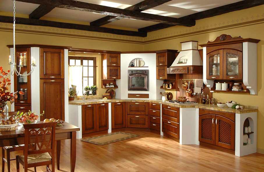 Arredamento cucina classica ~ Nadia