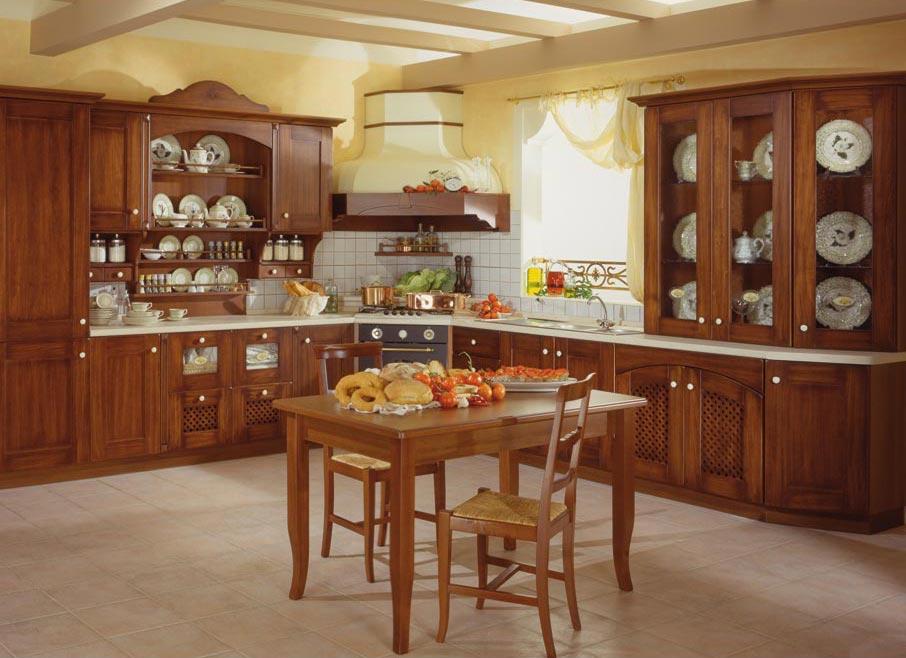 Cucina classica gaia rivenditori cucine sicilia - Immagini di cucine classiche ...