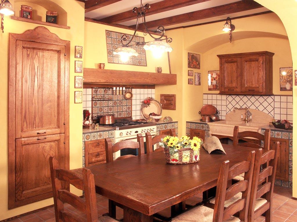 Modular furnishing masonry kitchens ~ Tosca