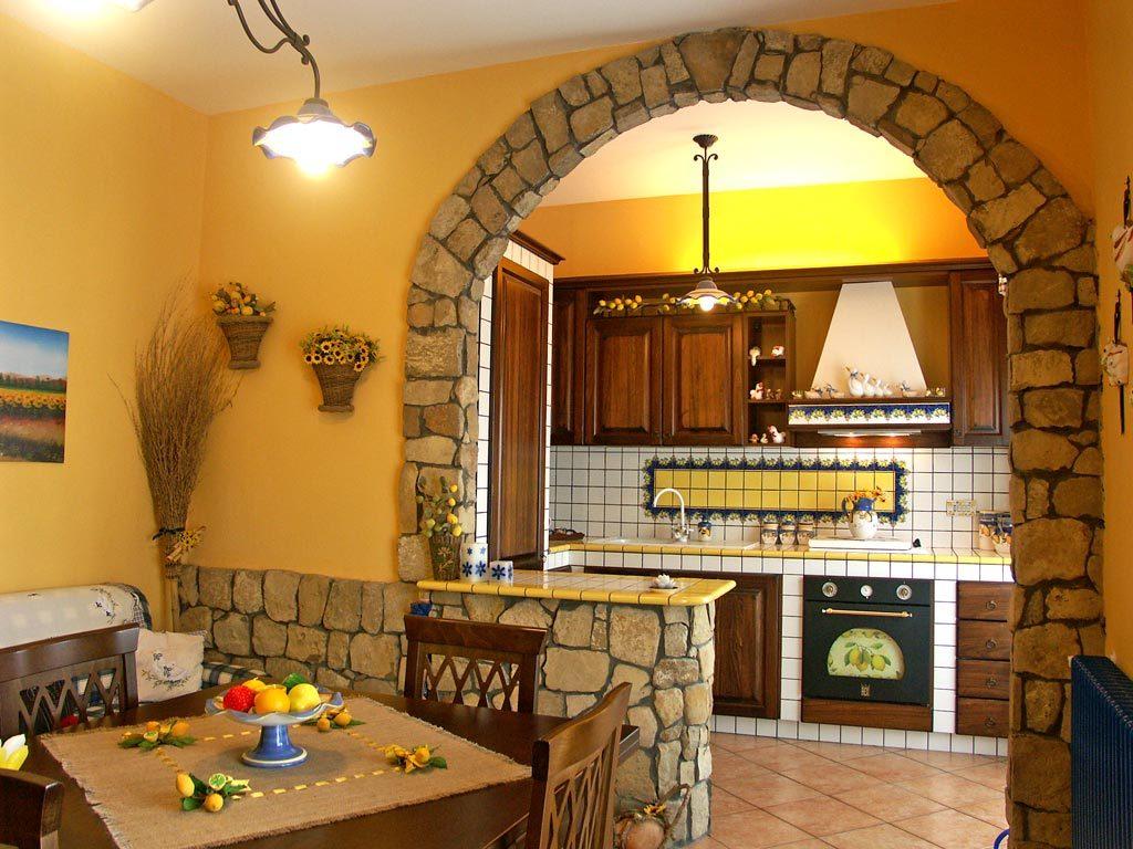 Cucine in finta muratura - Rivenditori cucine Sicilia
