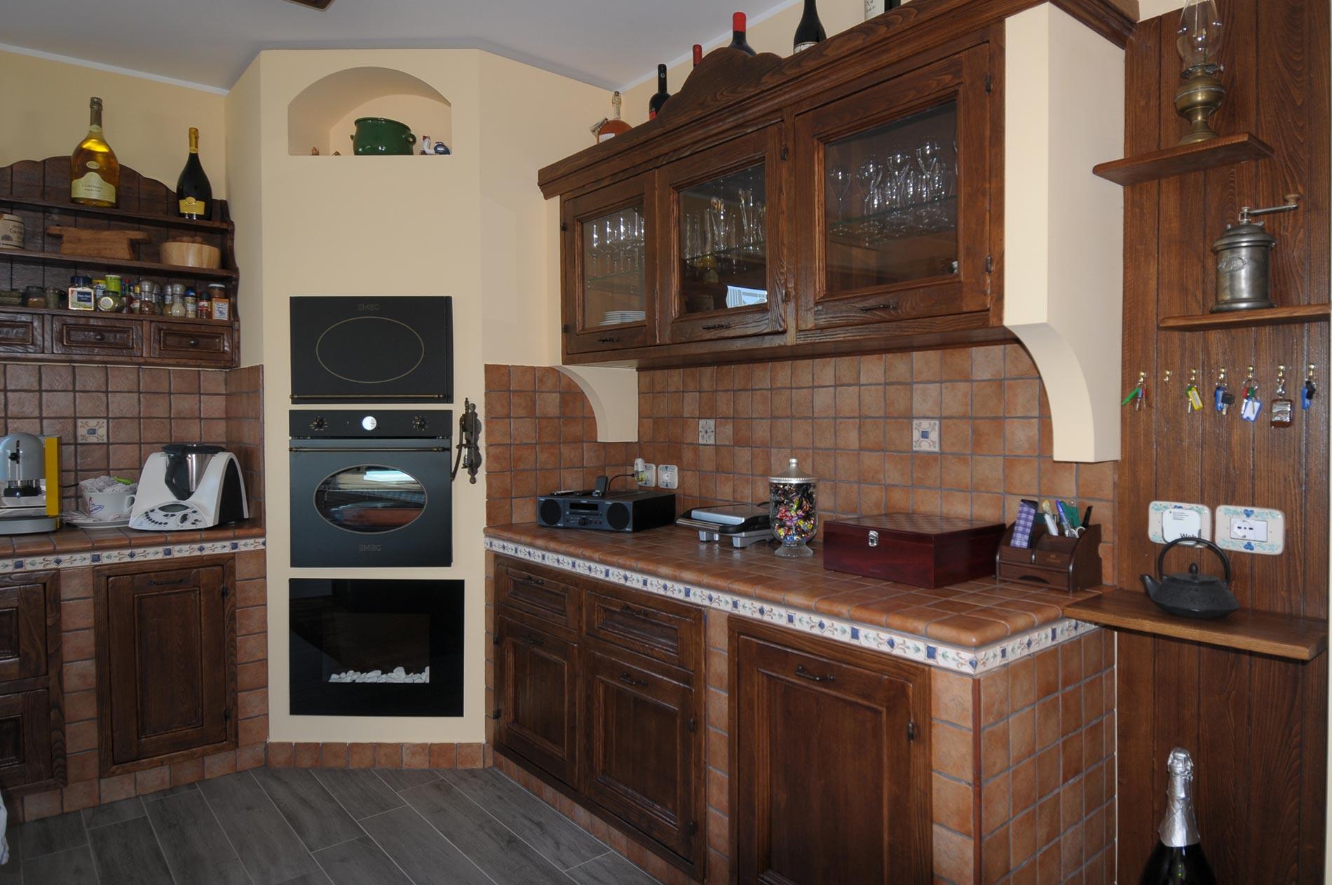 Cucina finta muratura Tosca - Rivenditori cucine Sicilia