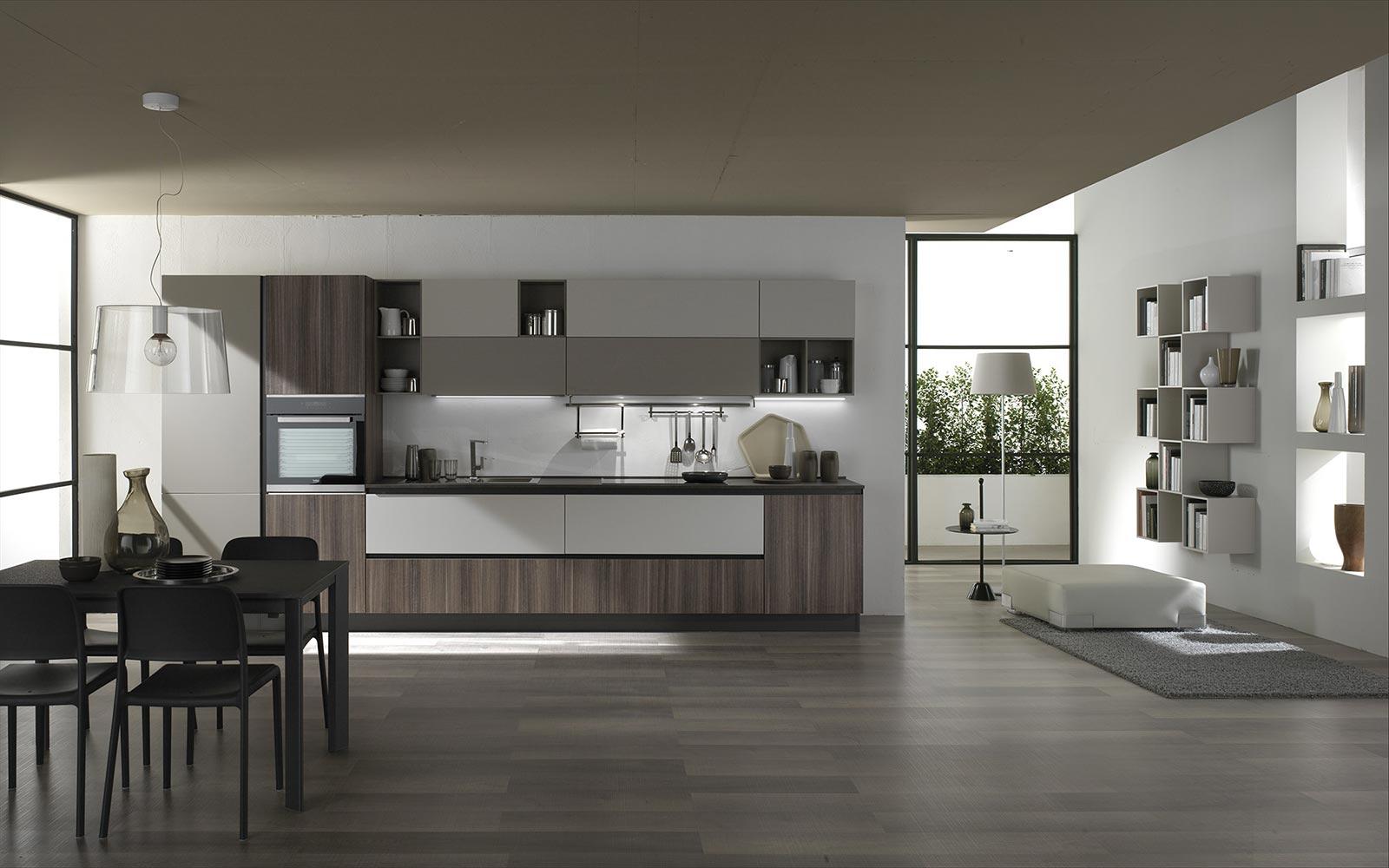 Gora, una cucina moderna in vendita in Sicilia. Disponibile in diversi colori e modelli.