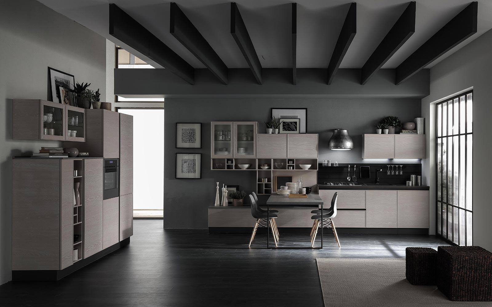 Cucina Starline dal design elegante e moderno, per chi cerca stile e utilità