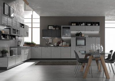 Cucina moderna Starline: stile accattivante e dinamico, design comfortevole, pratico e funzionale.