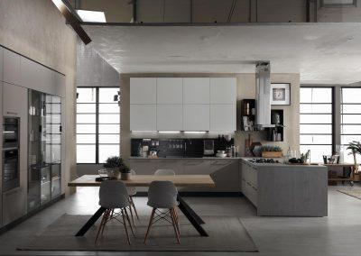 Cucina moderna terra rivenditori cucine sicilia - Cucine sospese da terra ...
