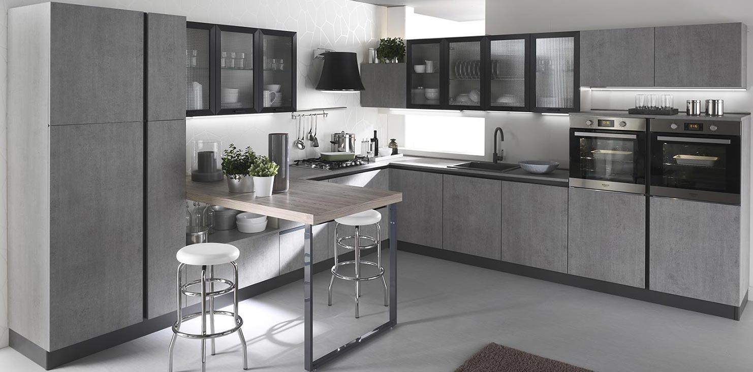 Cucina moderna Gora - Rivenditori cucine Sicilia