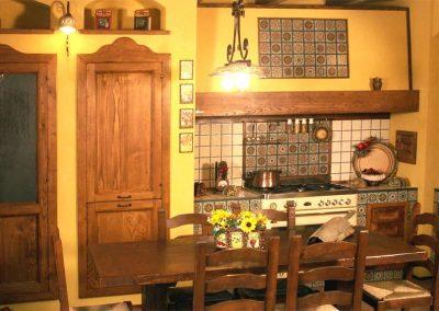 Kitchen fake brick Tosca