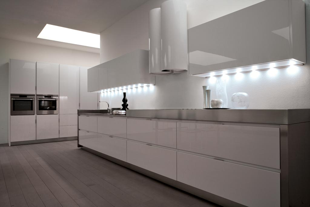Cucine Moderne Bianche E Acciaio | Zdrojovykod