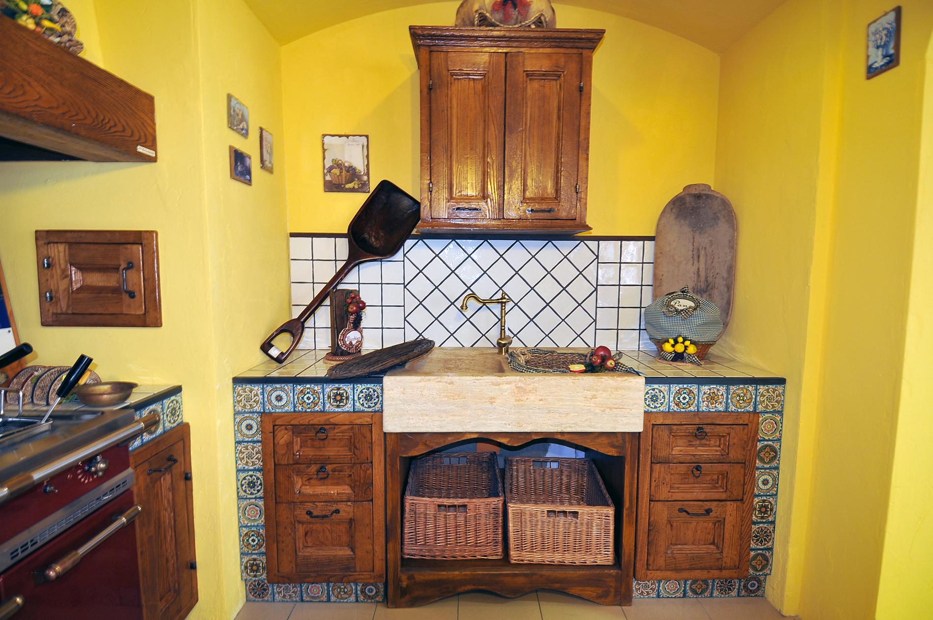 Cucine finta muratura - Rivenditori cucine Sicilia