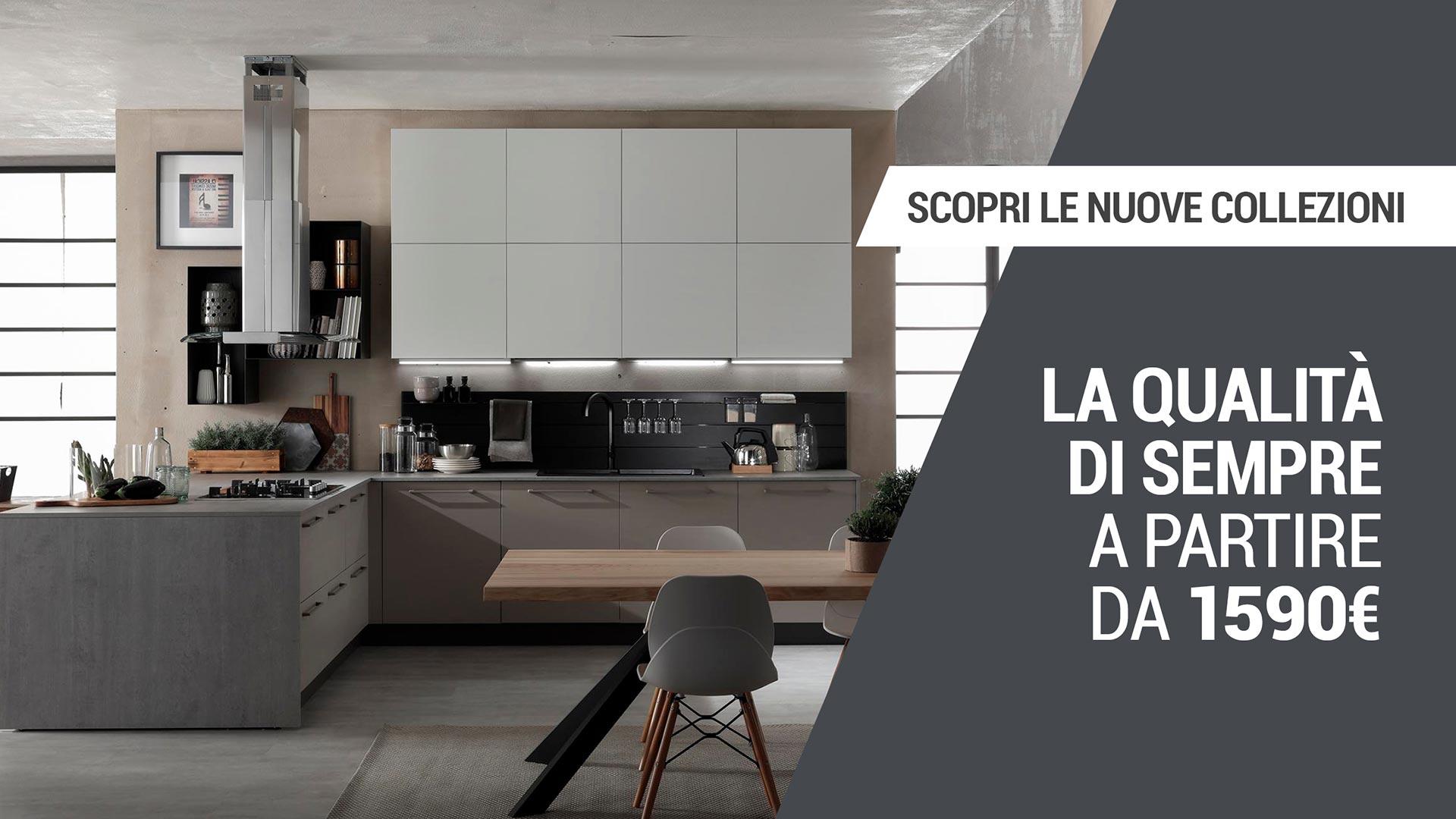 Nuova collezione delle cucine componibili in vendita in Sicilia