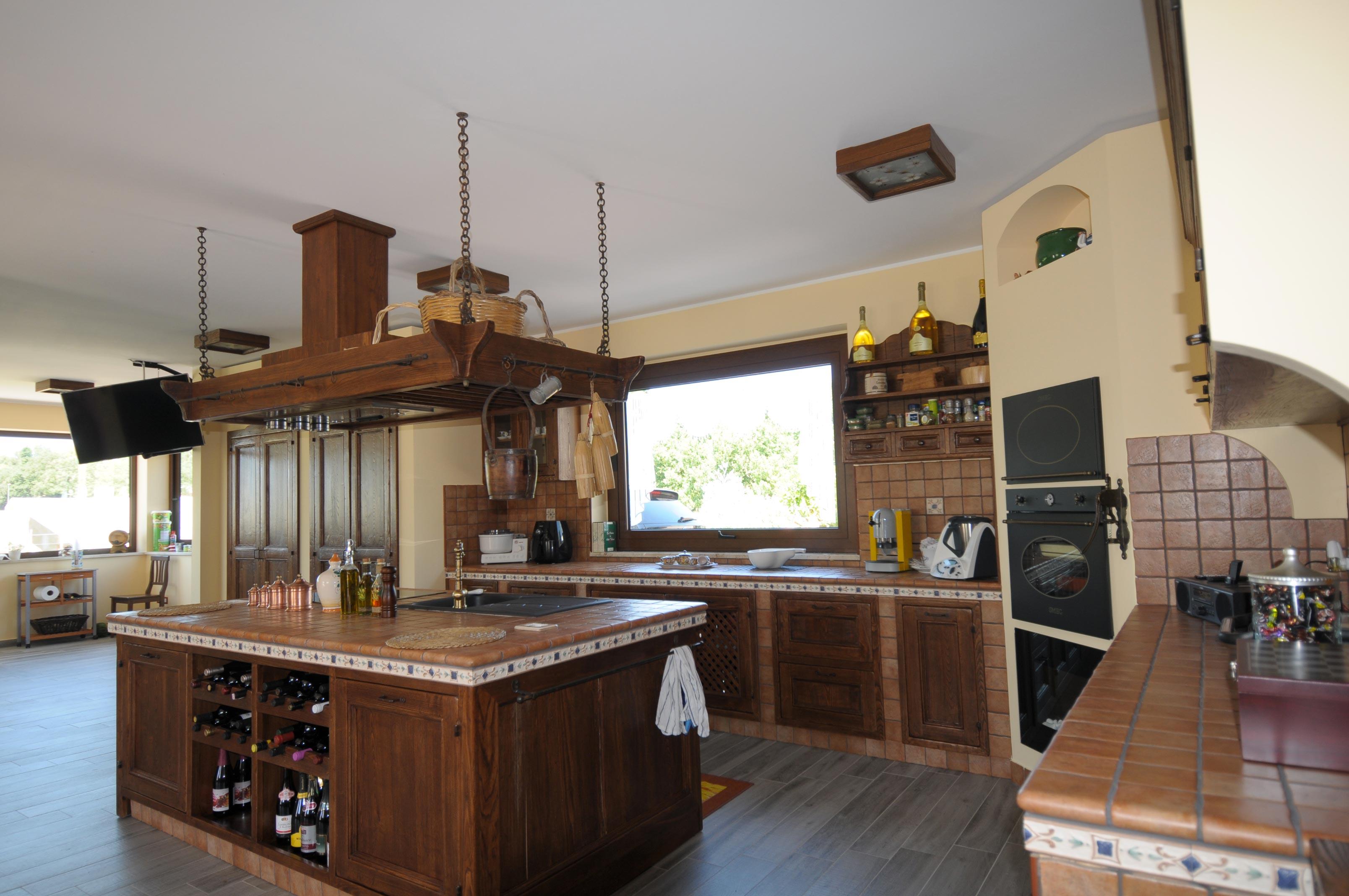 Piano Cottura Per Cucina Muratura.Cucina Finta Muratura Tosca Rivenditori Cucine Sicilia