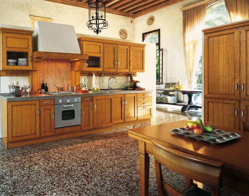 Arredamento cucina classica ~ Settecento dogato ciliegio